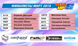 Победители БензUp 6 - Март